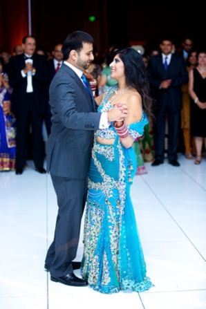 Indian wedding bride groom fashion reception