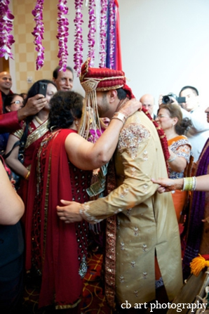 Indian wedding ceremony baraat