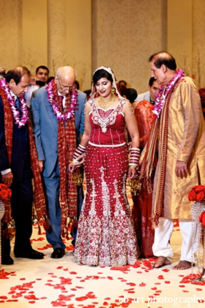 Indian wedding ceremony bridal fashion