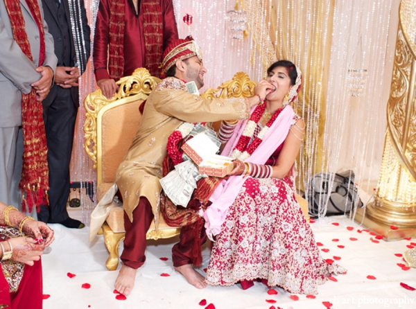 Indian wedding ceremony bride groom tradition