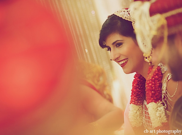 Indian wedding ceremony bride makeup