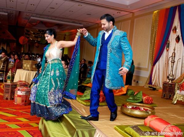 Indian wedding fashion bride groom