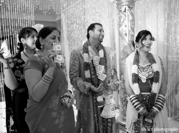 Indian wedding photography black white