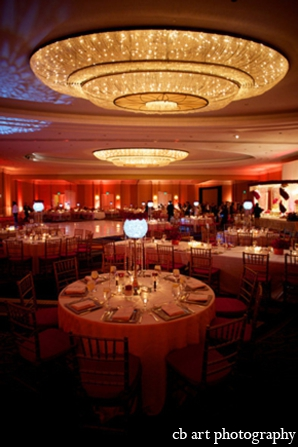 Indian wedding reception design planning lighting