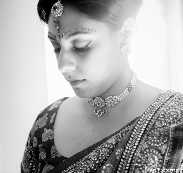 Indian wedding bridal jewelry in Toronto, Ontario Indian Wedding by Banga Photography