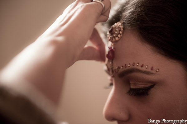 Indian wedding bridal makeup in Toronto, Ontario Indian Wedding by Banga Photography