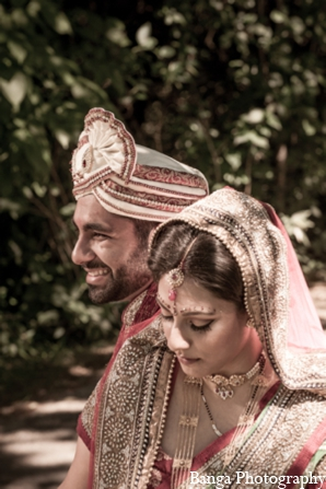 Indian wedding bride groom image in Toronto, Ontario Indian Wedding by Banga Photography
