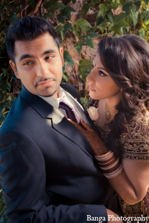 Indian wedding bride groom portrait in Toronto, Ontario Indian Wedding by Banga Photography
