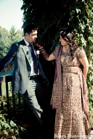 Indian wedding bride groom in Toronto, Ontario Indian Wedding by Banga Photography