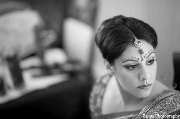 Indian wedding bride hair makeup in Toronto, Ontario Indian Wedding by Banga Photography