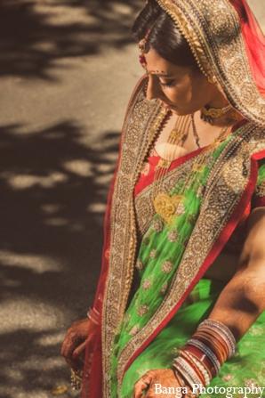 Indian wedding bride portrait in Toronto, Ontario Indian Wedding by Banga Photography