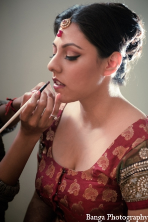 Hair & Makeup,indian wedding makeup,indian bridal makeup,indian bride makeup,Banga Photography