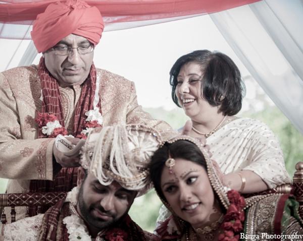 Indian wedding ceremony bride groom in Toronto, Ontario Indian Wedding by Banga Photography