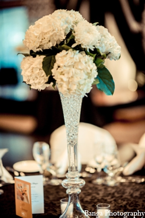 Indian wedding floral centerpiece in Toronto, Ontario Indian Wedding by Banga Photography