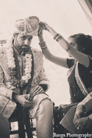 Indian wedding groom outfit in Toronto, Ontario Indian Wedding by Banga Photography