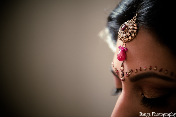 Indian wedding hair accessories jewelry in Toronto, Ontario Indian Wedding by Banga Photography