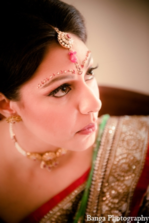 Indian wedding makeup hair bride in Toronto, Ontario Indian Wedding by Banga Photography