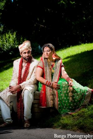 Indian wedding outdoor photos in Toronto, Ontario Indian Wedding by Banga Photography