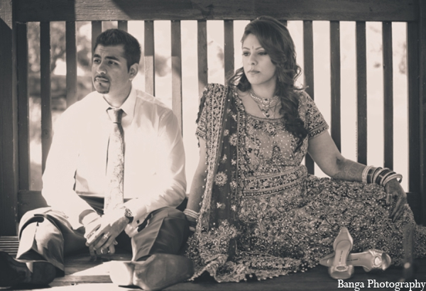 Indian wedding outdoor portraits in Toronto, Ontario Indian Wedding by Banga Photography