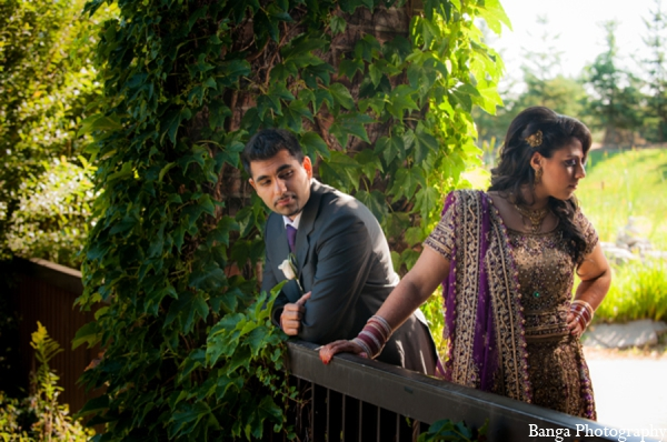 Indian wedding portraits bride groom in Toronto, Ontario Indian Wedding by Banga Photography