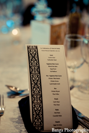 Indian wedding reception cards in Toronto, Ontario Indian Wedding by Banga Photography