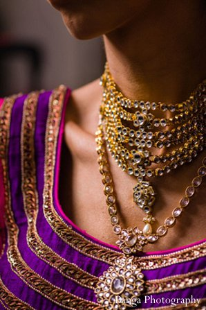 Indian wedding bridal getting ready in Glen Rock, NJ Indian Wedding by Banga Photography