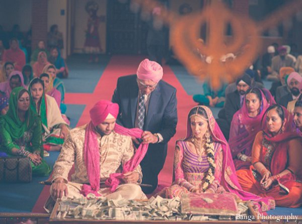 Indian wedding ceremony bride groom in Glen Rock, NJ Indian Wedding by Banga Photography