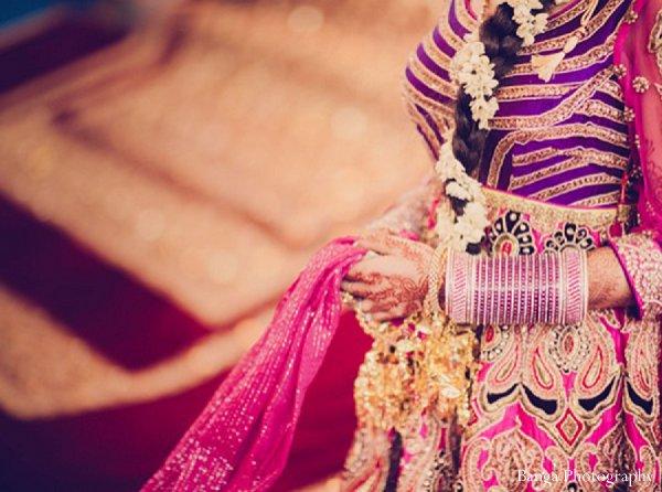 Indian wedding ceremony bride in Glen Rock, NJ Indian Wedding by Banga Photography