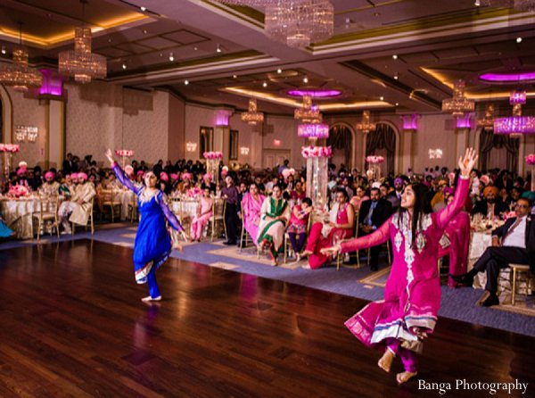 Indian wedding entertainment reception in Glen Rock, NJ Indian Wedding by Banga Photography