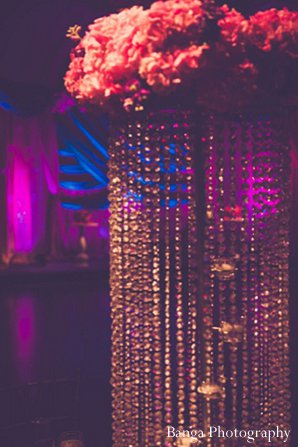 Indian wedding floral decor receptions in Glen Rock, NJ Indian Wedding by Banga Photography