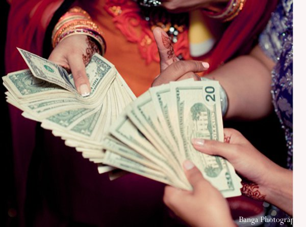 Indian wedding money traditions doli in Glen Rock, NJ Indian Wedding by Banga Photography