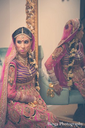 Indian wedding photo shoot bride in Glen Rock, NJ Indian Wedding by Banga Photography