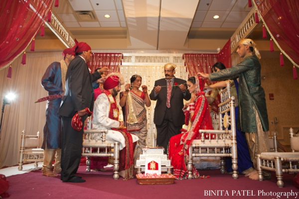 Hindu wedding ceremony in Woburn, MA Indian Fusion Wedding by Binita Patel Photography