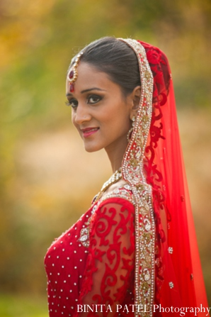 Indian bride fashion in Woburn, MA Indian Fusion Wedding by Binita Patel Photography