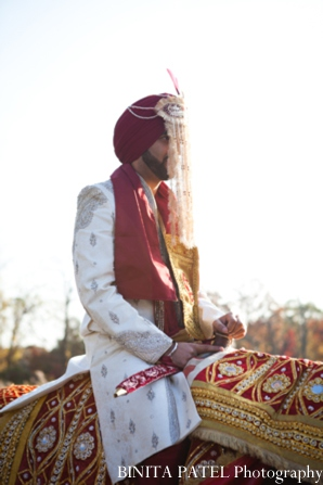 Indian wedding baraat in Woburn, MA Indian Fusion Wedding by Binita Patel Photography