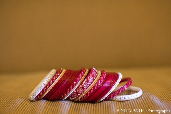 Indian wedding bridal bangles in Woburn, MA Indian Fusion Wedding by Binita Patel Photography