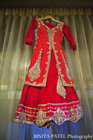 Indian wedding bride lehnga in Woburn, MA Indian Fusion Wedding by Binita Patel Photography