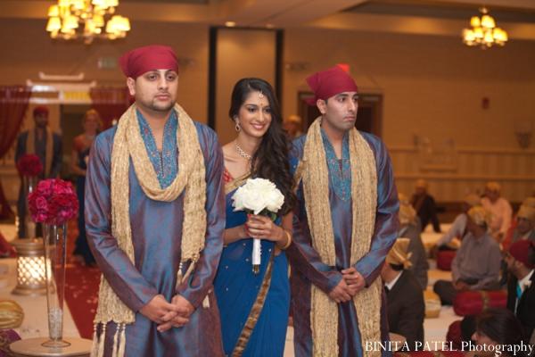 Indian wedding bridesmaid in Woburn, MA Indian Fusion Wedding by Binita Patel Photography