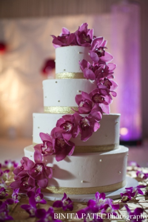 Indian wedding cake in Woburn, MA Indian Fusion Wedding by Binita Patel Photography