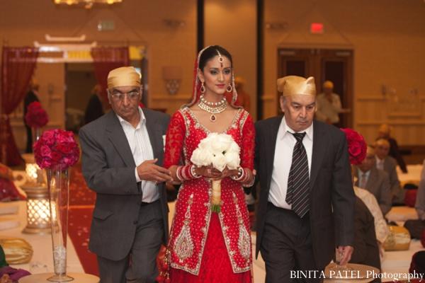 Indian wedding ceremony bride in Woburn, MA Indian Fusion Wedding by Binita Patel Photography