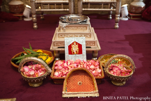 Indian wedding ceremony elements in Woburn, MA Indian Fusion Wedding by Binita Patel Photography