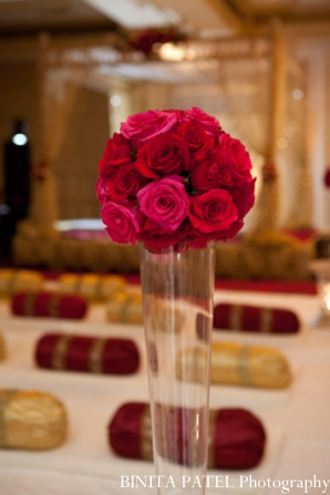 Indian wedding ceremony floral in Woburn, MA Indian Fusion Wedding by Binita Patel Photography