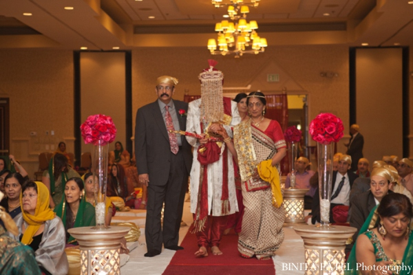 Indian wedding ceremony groom in Woburn, MA Indian Fusion Wedding by Binita Patel Photography