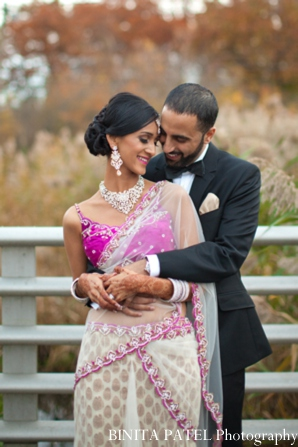 Indian wedding choli in Woburn, MA Indian Fusion Wedding by Binita Patel Photography