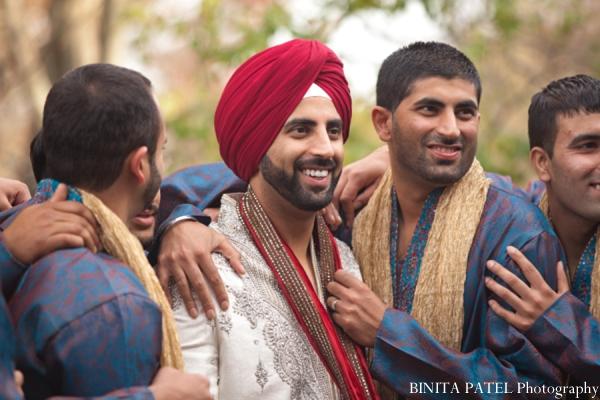 Indian wedding groomsmen in Woburn, MA Indian Fusion Wedding by Binita Patel Photography