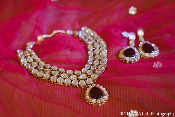 Indian wedding jewelry in Woburn, MA Indian Fusion Wedding by Binita Patel Photography