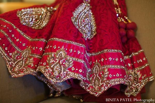 Indian wedding lehenga in Woburn, MA Indian Fusion Wedding by Binita Patel Photography