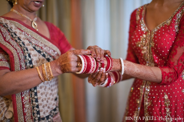 Indian wedding mother bride tradition in Woburn, MA Indian Fusion Wedding by Binita Patel Photography