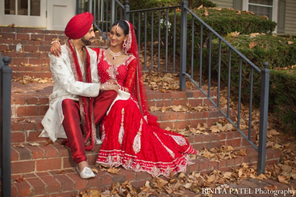 Indian wedding photo in Woburn, MA Indian Fusion Wedding by Binita Patel Photography