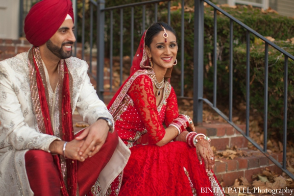 Indian wedding picture in Woburn, MA Indian Fusion Wedding by Binita Patel Photography